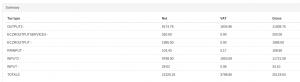 Multiple VAT reports on Xero