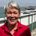 Tracy Edwards at Cowes Week 2018